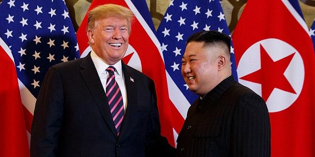 "The president told Kim that he believes North Korea ""has tremendous economic potential, unbelievable, unlimited."""