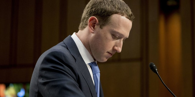 Facebook CEO Mark Zuckerberg testified in Washington in 2018 but did not appear before British lawmakers.