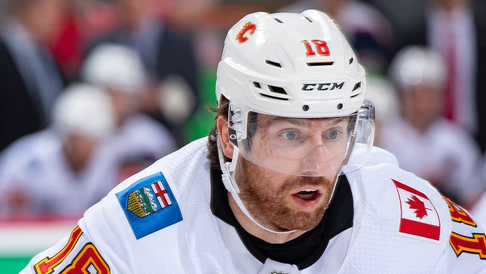 Calgary Flames player s teeth fly out during game  db6541cac