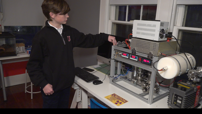 Image result for A 12-Year-Old Built A Working Fusion Nuclear Reactor In His Old Playroom