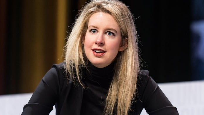Elizabeth Holmes bought dog she claimed was 'wolf' as Theranos collapsed, report says