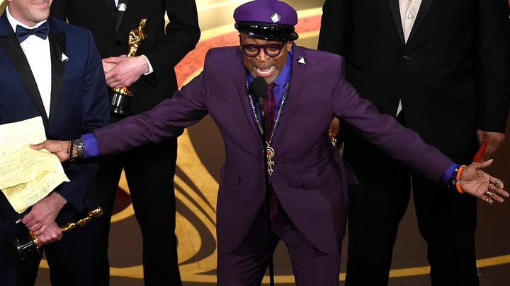 Spike Lee issues call to action for 2020 presidential election in Oscars speech