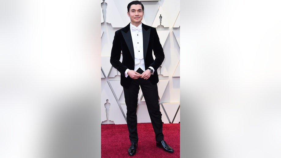 Henry Golding arrives at the Oscars on Sunday, Feb. 24, 2019, at the Dolby Theatre in Los Angeles. (Photo by Richard Shotwell/Invision/AP)