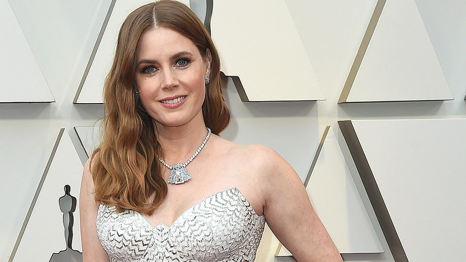 Amy Adams arrives at the Oscars on Sunday, Feb. 24, 2019, at the Dolby Theatre in Los Angeles. (Photo by Jordan Strauss/Invision/AP)