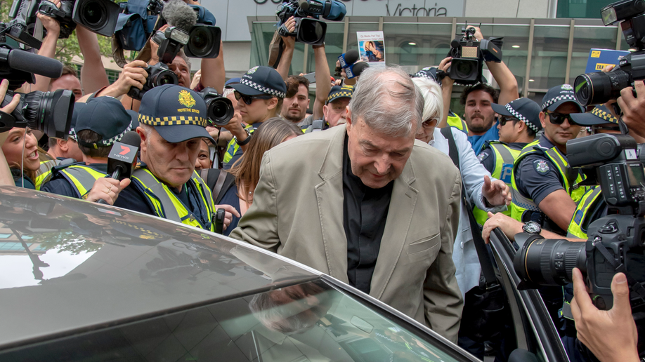 Disgraced Aussie cardinal behind bars for child sex crimes