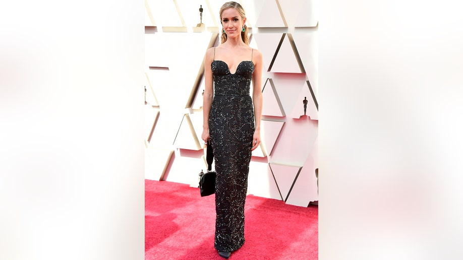 Kristin Cavallari arrives at the Oscars on Sunday, Feb. 24, 2019, at the Dolby Theatre in Los Angeles. (Photo by Jordan Strauss/Invision/AP)