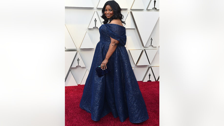 Octavia Spencer arrives at the Oscars on Sunday, Feb. 24, 2019, at the Dolby Theatre in Los Angeles. (Photo by Jordan Strauss/Invision/AP)