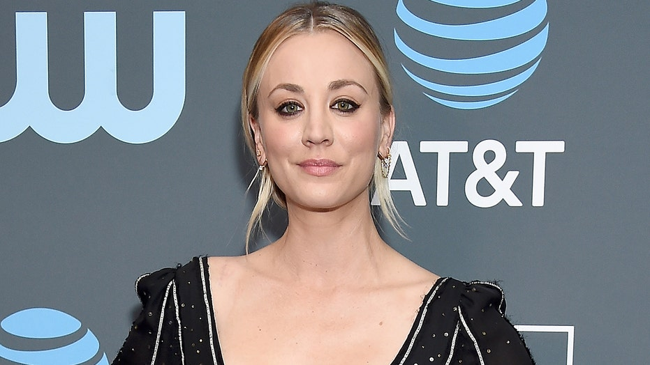 Kaley Cuoco hits back at social media trolls shaming her for working out in a mask