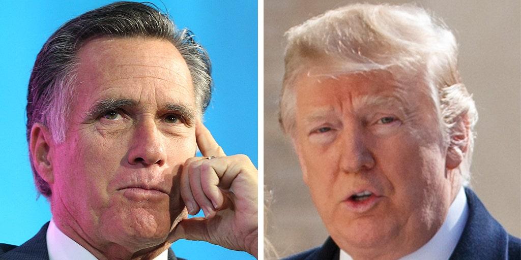 Mitt Romney blasts Trump's 'brazen' request for foreign probes into Biden family