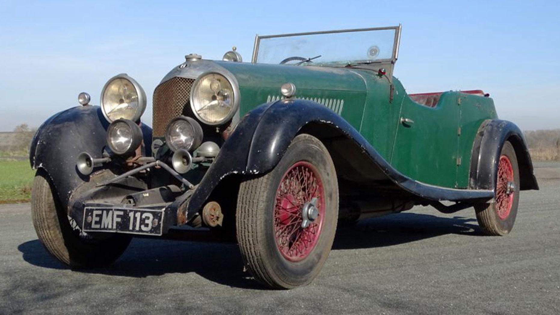 1936 Bentley 4.5L Vanden Plas Tourer