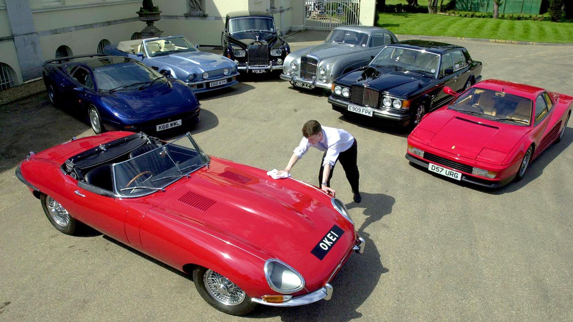 Elton John Car Collection
