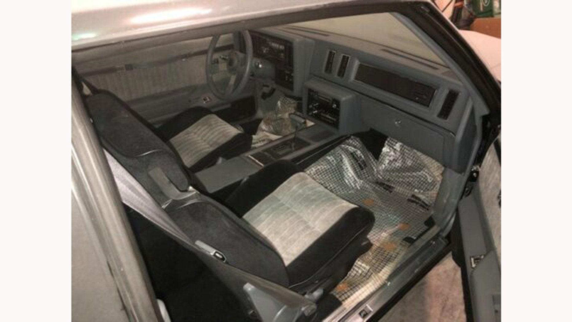 1987 Buick Grand National interior