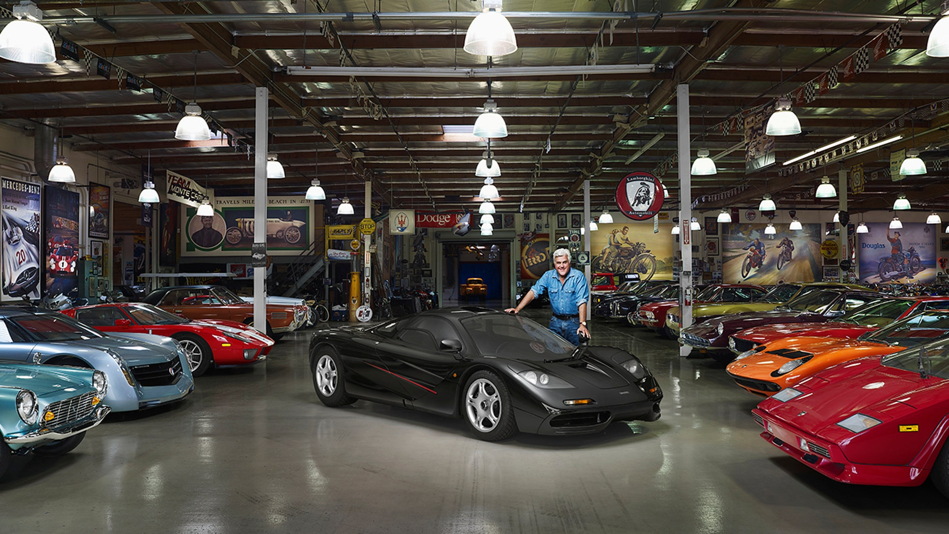 Jay Leno and his McLaren F1