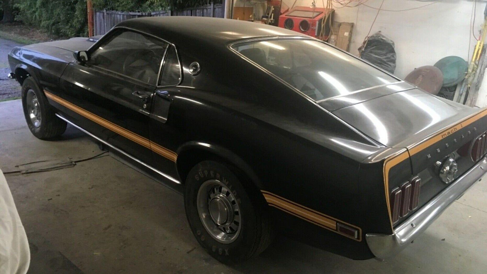 1969 Ford Mustang Mach 1 Cobra Jet