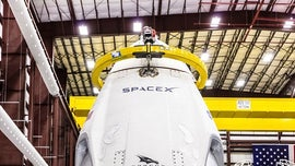 SpaceX Crew Dragon docks at International Space Station