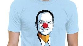 Trump campaign unveils 'Pencil-neck Adam Schiff' T-shirts for sale
