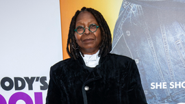 Whoopi Goldberg says she had a 30 percent chance of dying from pneumonia scare
