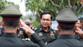 Long Thai crisis morphed coup leader's career into politics