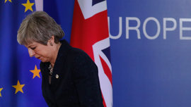 For EU, Brexit has trashed May's 'strong and stable' image