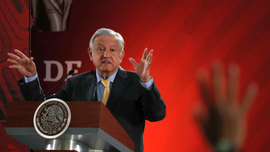 Mexican president promises not to seek re-election