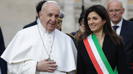 Pope honors Rome's legacy of integration over centuries