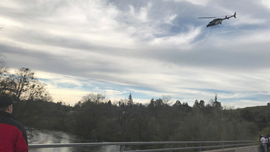 The Latest: Man who slipped into California river found dead