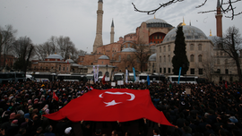 Erdogan: Istanbul's Hagia Sophia could be turned into mosque