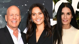 Bruce Willis' wife, Emma, comments on Demi Moore's family photo as she isolates with ex-husband
