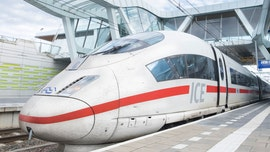 Drunk traveler on high-speed train smashes into conductor's area, demands train slow down