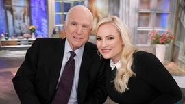 'The View' host Meghan McCain says her late father would laugh that Trump is 'so jealous of him'