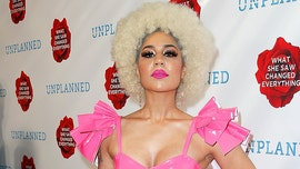 Joy Villa wears 'F—k Planned Parenthood' dress at anti-abortion film 'Unplanned' premiere