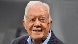 Jimmy Carter becomes oldest living former US president