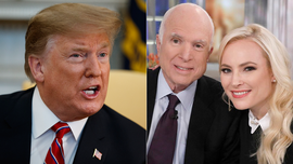 Donald Trump's feud with McCain family escalates: 'I was never a fan'