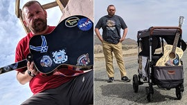 Soldier walking across US to aid other vets