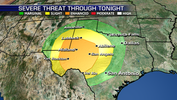 Severe storms in store for Texas, Southern Plains