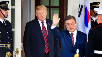 Trump to meet with South Korea's Moon in April, White House says