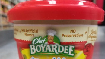Chef Boyardee bowls recalled over labeling mix-up