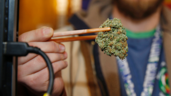 Smoking strong pot daily could raise psychosis risk, study finds