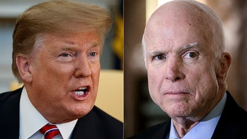 The Departed: History will likely remember invective President Trump has lobbed at John McCain