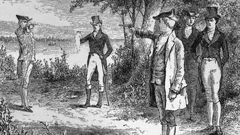 Chicago White Sox pitchers recreate historic Hamilton-Burr duel