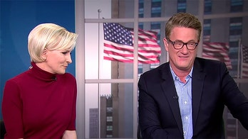 Scarborough dismisses Brzezinski after she apparently suggests Trump isn't Barron's father