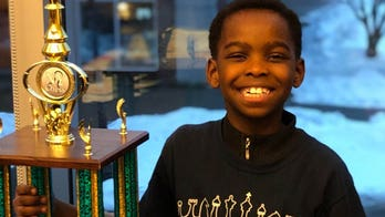 Homeless 8-year-old Christian refugee whose family escaped Boko Haram wins NY chess championship