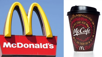 McDonald's customer arrested after throwing hot coffees at worker through drive-thru window