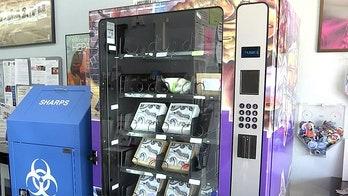 Las Vegas vending machine dispenses overdose-reversal drug Narcan