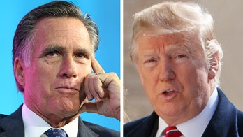 Trump calls Romney a 'RINO' after GOP senator targets president's 'undemocratic action'
