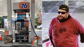 California arson suspect sought after spilling, igniting fuel at gas station, officials say