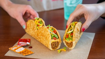 Taco Bell testing the 'Triplelupa,' which is essentially three chalupas connected end-to-end