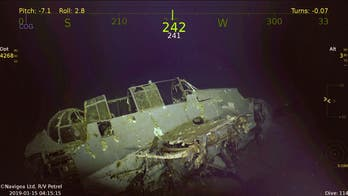 Wreck of WWII aircraft carrier USS Wasp discovered in the Coral Sea