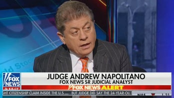 Judge Napolitano says of the House Judiciary probe into Trump 'is almost literally a witch hunt'