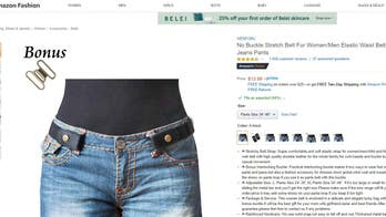Buckle-free belt becomes Amazon 'best-seller' despite missing seemingly important feature